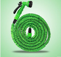 Wholesale Expandable Flexible Plastic Hose Water Garden Pipe With Spray Nozzle For Car Wash Pet Bath Original FT FT FT DHL Free
