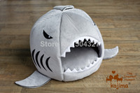 Wholesale Pieces Japanese Shark Pet Beds Shark Attack Dog Bed Cat Bed