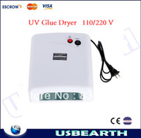 Wholesale W UV Glue Dryer LED Light for repairing cell phone screen lamp for drying uv glue with W nm ultraviolet lamp