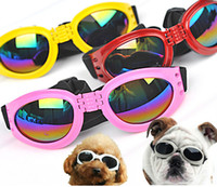 Wholesale Hot Fashion Dog Sunglass Pet Eye wear Protection Dog Travel Tool Color Mix Order