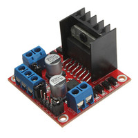 Cheap 10pcs lot L298N for DC Stepper Motor Driver Module 5v to 35v Controller Board Dual H Bridge for Arduino Free Shipping