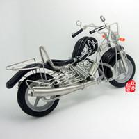 best kid bikes - Cool Metal Motorcycle Bike Model Cool Retro Handmade DIY Home Decoration Gift Black Best Gifts M91
