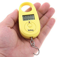 Cheap 25kgx5g Mini LCD Display Digital Hanging Luggage Fishing Weighing Scale holesale H4680