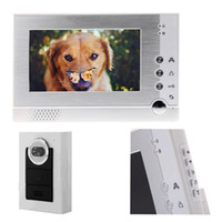 bell vision system - 7 quot TFT LCD Color Video Doorphone Doorbell Intercom System for Villa Home Hands Free Night Vision Take Photo bell Viewer Lens H10730