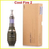 Single Green Metal Original Innokin Cool Fire 2 II starter VV mod Max Vapor kit with Rotatable 3.0ml iClear 30B atomizer
