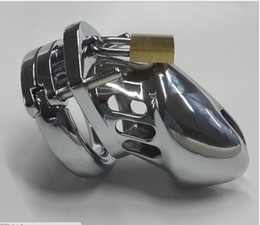 Wholesale Small Male Stainless Steel Chastity Device Cock Cage Men Chastity Belt ring size cm cm cm Sizes