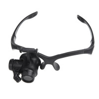 Loupes, Magnifiers magnifying glass - Eyewear Single Eye Magnifier with Headband Lupa Magnify Lamp Glasses x x x x Magnify Lamp Glasses Magnifying Glass Loupe H10528