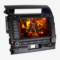 Wholesale 8 inch Dual Car DVD Player Toyota Land Cruiser Special CAR DVD Radio GPS Navigation Bluetooth RDS AUX HD P Playing D Map