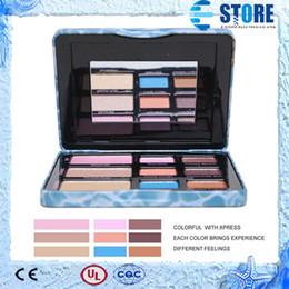 Wholesale New Colors Makeup Makeup Eyeshadow Pallete Face Palette Eye Shadow Luminizer wu