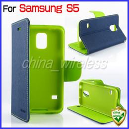 Flip Housse En Cuir Portefeuille Carte De Crédit Stand Mercury Goospery Fantaisie Pour Samsung Galaxy S5 S4 S3 Note2 Note3 S4mini iPhone 5 5S 4 6 4.7 '' à partir de mercure cas s4 fabricateur