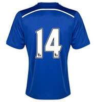 SCHURRLE #14 Home 14- 15 Soccer Jersey ( Blue Core Blue White...