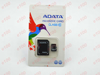 Cheap ADATA 128GB Micro SD Card Class 10 128 gb adata Micro SDHC TF Memory Card factory OEM ODM adapter Package for Samsung iphone 6 100pcs