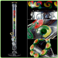 Wholesale 2014 Newest ROOR Glass Bong France s top import color high grade Smoking color pipe Glass Bongs Smoking Pipe joint size mm high cm
