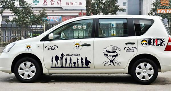One Piece Car Sticker Malaysia One Piece Car Sticker