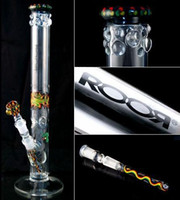Wholesale Glass Bong top import color high grade ROOR Smoking Glass Water Pipe joint size mm High cm by EMS