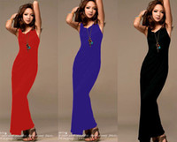 Casual Dresses Bodycon Dresses Spring New Free shipping Sexy Womens Boho Backless Beach Holiday Party Long Maxi Dresses
