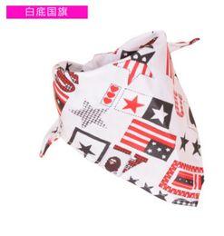 Wholesale 5071306585 children boys and girls new fashion scarf turban cute bibs printing