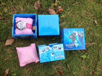 Wholesale FROZEN children pink watch for u fashion Lovely Girl The carton packaging the best gift to u kids