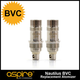 Wholesale hotsale atomizer head ohm aspire BVC coil head Bottom Vertical Coil Huge vapor high quality with best price