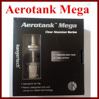 3. 8ml Pyrex glass and Stainless steel Aerotank Mega atomizer...