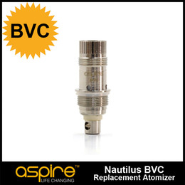 Wholesale Aspire BVC coil head Bottom Vertical Coil Work on Nautilus Mini tanks Huge vapor much better taste high quality with best price