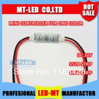 Wholesale X10pcs Infrared LED key Mini controller one color Led strip lamp lights module