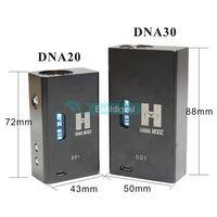 Wholesale Hana Modz Pack V3 DNA Mod IDENTICAL W DNA30 Mod High End Vape Gear Huge Power DNA20 DNA Best Quality Fasion Style