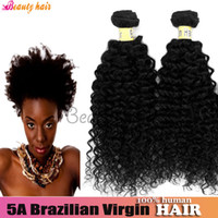 Wholesale 2014 Brazilian Virgin Hair Afro Kinky Curly Hair Weave Mixed or Real Natural One Donor Human Bulk Hair Bella Dream Online Hair