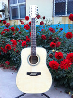 12 string acoustic guitar - New brand string acoustic guitar in natural color and sunbrust color