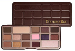 Wholesale Factory Direct New brand Makeup Eyes Chocolate Bar color Eyeshadow Palette Colors Eyeshadow shipping DHL free Best Quaity