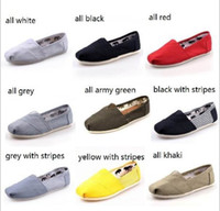 Wholesale brand new women men s one for one Double Star Unisex casual canvas shoes EVA stripes Sport canvas Flat Lovers shoes
