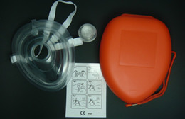 Wholesale 5 CPR Mask CPR protect mask case for CPR first aid training provent touch