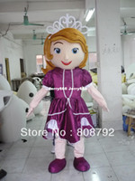 Mascot Costumes Unisex Animal New Sofia costume adult plush dora mascot costume elmo barney doraemon cartoon kitty character costumes party