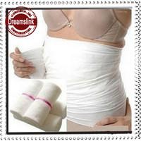 Wholesale postpartum abdomen with gauze gauze corset belt tie cummerbund bound with gauze S and XXL size roll