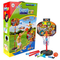Balls 3 & 4 Years Boys Aojie children's music Darts shooting + 2 in 1 basketball paternity suit indoor basketball sports toys gift