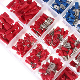 Wholesale models Insulated Terminals Electrical Crimp Connector Butt Spade Ring Fork With Storage Box