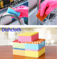 dishcloths and kitchen towels - 10PCS High efficient kitchen towel anti greasy hand washing dish cloth and wipping rag dishcloth wipes