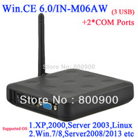 Wholesale N380W thin client with wifi builtin WIN CE embeded RS232 customized ARM11 MHZ Windows and linux server support via RDP
