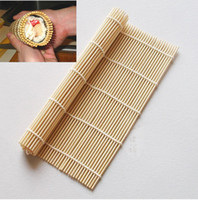 Ceramic ECO Friendly Sushi Tools 2 PCS Bamboo SUSHI Mat sushi Roll Asia Chinese Japan Kitchen Hand Rolling