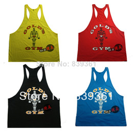 Wholesale Latest shirt designs for men neweat arrival man shirt tanks contton fabric underwear GOLDS gym singlets stingers hot tops in stock