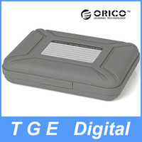 Grey High quality Plastic (ABS) 178*128*40mm ORICO PHX-35-GY 3.5 inch SATA Hard Disk Drive HDD Protector Box Case Waterproof Dustproof Shockproof Moisture proof
