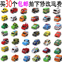 2-4 Years Red Metal Special children's toy car project back police car fire truck baby toy mini car