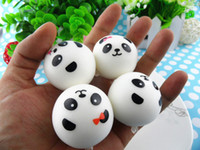 For Apple apple store bag - New store Promotion Cute cm Panda Squishy Cell Phone Charm Bag charm PU With Fragrance