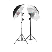 Wholesale Photographic Equipment Clothing Shoot Photography Set m Light Stand Reflector Umbrella Socket Adapter