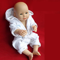 Girls Birth-12 months PVC New arrival 2014 wholesale min order 1 pieces cute Super Simulation silicone baby doll Lifelike Reborn Baby Girl Doll for kidst