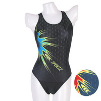 Fins Swim Body Suits Special Genuine triangular piece swimsuit season Bo was thin female models swimwear fabric printing S8133