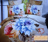 Cheap Knitted oil painting Best Home Adult 4pcs bedding