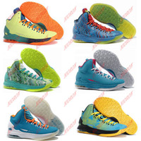 Free shipping Men's 2014 High Top KD 5 Kevin Durant KD V 5 B...