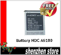 Wholesale Original Battery Replacement for HDC A9100 Dual Sim Android phone Airmail
