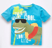 Boy Summer Standard Wholesale - new design baby boys shirts from kids clothes factory